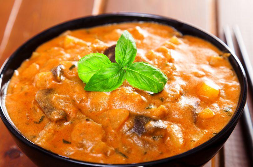 Auberginen Kartoffel Curry